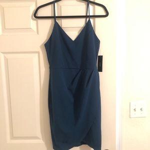 Dark teal Lulu's dress